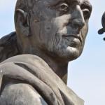 Antonio Stradivari - statue of famous Italian violin maker