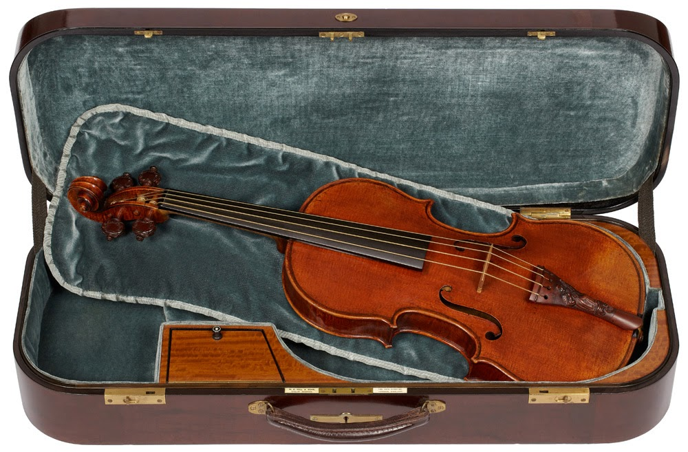 The Unplayed Lady Blunt Stradivarius Violin